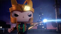Loki Fires Scepter