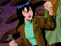 Naoko Smacks Symbiote Spore