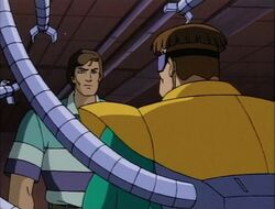 Peter Orders Doctor Octopus to Release Hostages
