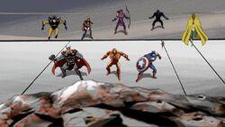 Avengers See Terrax Rock AEMH