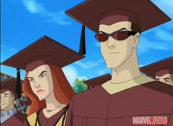 Scott and Jean at graduation XME