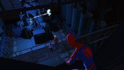 Spider-Man Spots Sally Experiment SMTNAS