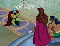 Krang Bows Before Namor