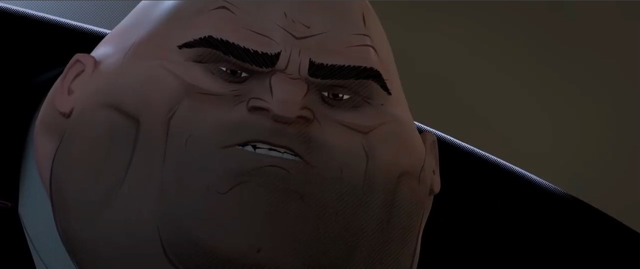 Image result for into the spider verse kingpin