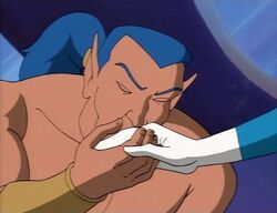 Namor Kisses Invisible Womans Hand