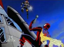 Spider-Man Takes Furys Gun