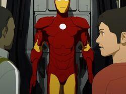 Tony Puts On Suit IMAA