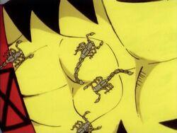 Scorpions on Wolverine