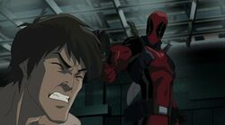 Deadpool Threatens Bruce HV