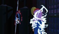 Spider-Man Sally Descends SMTNAS