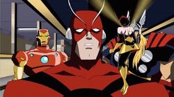 Wasp Berates Ant-Man AEMH