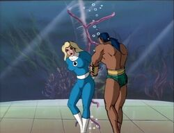 Namor Frees Invisible Woman