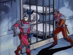 Guards Hear Magneto Prison Attack