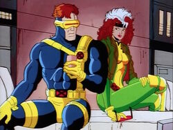 Rogue Flirts With Cyclops