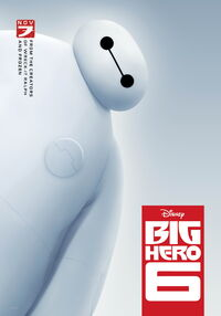 Hello Baymax Poster BH6