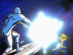 Uatu Recalls Silver Surfer Thanos Fight