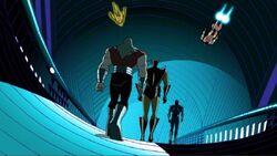 Heroes Walk Down Galactus Conduit AEMH