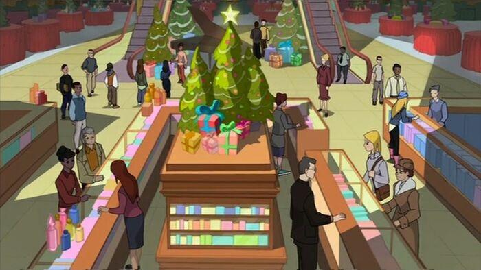 Christmas Shopping SSM