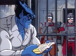 Guards Laugh at Beast Reading