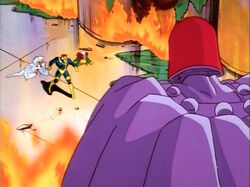 X-Men Confront Magneto MetroChem