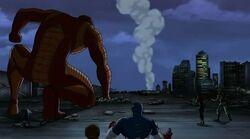 Giant Man Slams Hulk UA