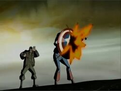 Cap Protects Jack Grenade AEMH