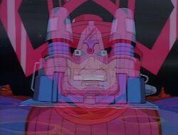 Galactus Builds Ego Thruster