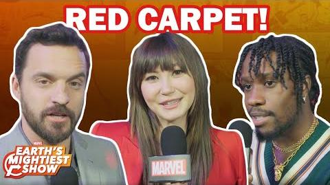 Into the Spider-Verse Red Carpet Questions