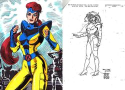 Jean Grey Alternate Costume Concept