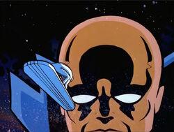 Uatu Apologizes to Silver Surfer