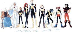 X-Men Evolution Alternate Costumes Concept
