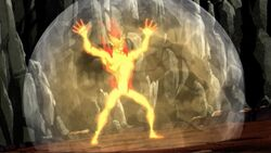 Invisible Woman Traps Firelord AEMH
