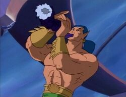 Namor Blows Horn of Proteus