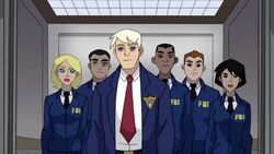 George Enters FBI Elevator SSM