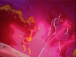 Sentinel Blasts Cyclops