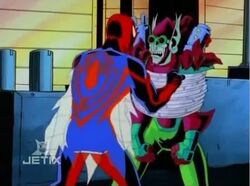 Spider-Man Asks Goblin Where Naoko Is