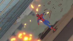 Spider-Man Outruns Demolition SSM