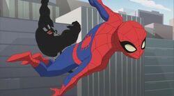 Venom Throws Spider-Man Air SSM