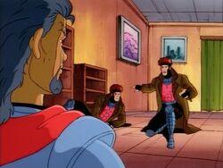 Mystique Blames Gambit
