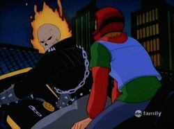 Rick Joins Ghost Rider