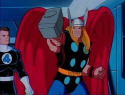Thor Threatens Galactus