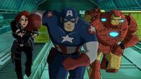 Widow Iron Man Cap Charge UA2