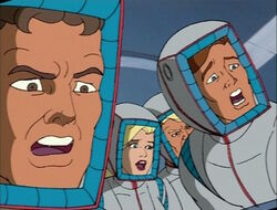 Fantastic Four Shuttle Accident