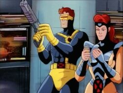 Cyclops Examines Gun