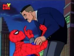 Spider-Man Forces Jameson With Him