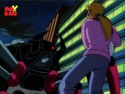 Black Widow II Threatens Mom Trooper