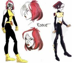Rogue XME Alternate Costume Concept