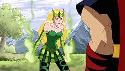 Amora Warns Thor of Danger AEMH