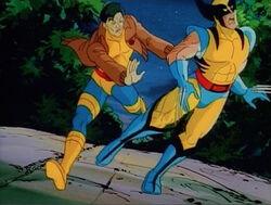 Morph Saves Wolverine