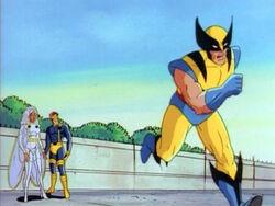 Wolverine Runs to Drake Control
